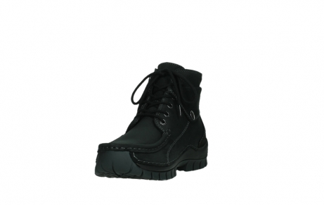 wolky ankle boots 04736 jump winter cw 50000 black leather cold winter warm lining_9