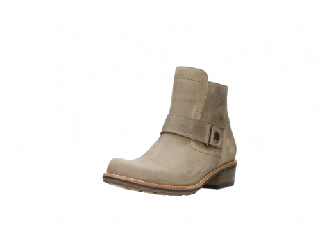 wolky stiefeletten 0525 gila 115 taupe geoltes nubukleder_22