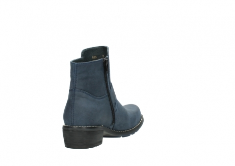 wolky enkellaarsjes 0525 gila 180 donkerblauw geolied nubuck_9