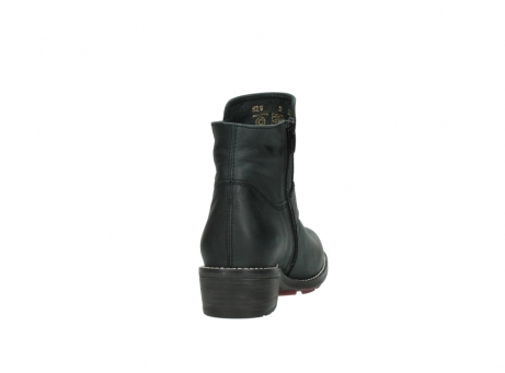wolky enkellaarsjes 0528 gila cw 100 zwart geolied nubuck cold winter vachtvoering_8