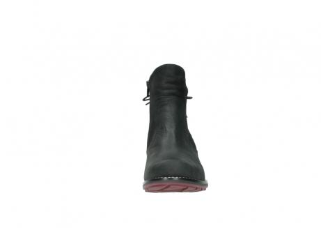 wolky enkellaarsjes 0529 yarra 100 zwart geolied nubuck_19