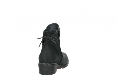 wolky enkellaarsjes 0529 yarra 100 zwart geolied nubuck_8