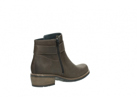 wolky ankle boots 0571 nero 515 taupe oiled leather_10