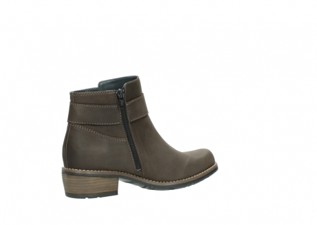 wolky ankle boots 0571 nero 515 taupe oiled leather_11