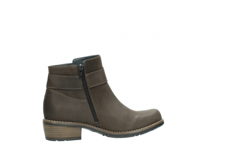 wolky ankle boots 0571 nero 515 taupe oiled leather_12