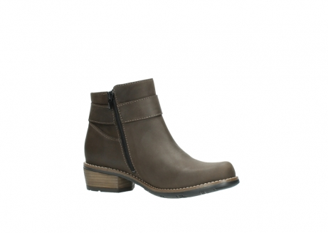 wolky ankle boots 0571 nero 515 taupe oiled leather_15
