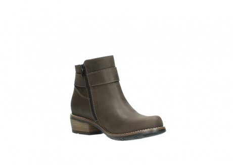 wolky ankle boots 0571 nero 515 taupe oiled leather_16