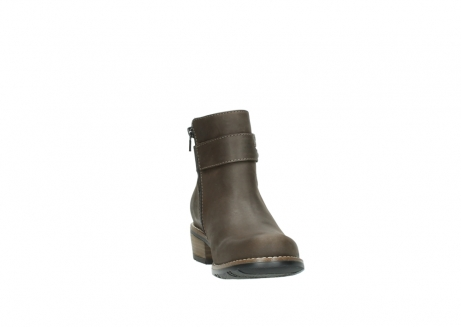 wolky ankle boots 0571 nero 515 taupe oiled leather_18