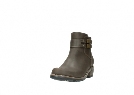 wolky ankle boots 0571 nero 515 taupe oiled leather_21