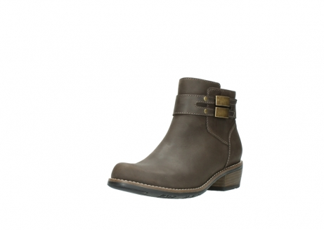 wolky ankle boots 0571 nero 515 taupe oiled leather_22