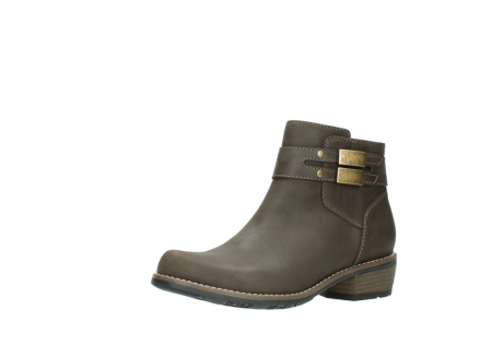 wolky ankle boots 0571 nero 515 taupe oiled leather_23