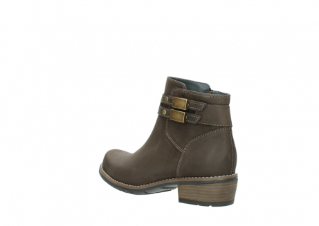 wolky ankle boots 0571 nero 515 taupe oiled leather_4