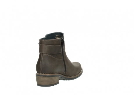 wolky ankle boots 0571 nero 515 taupe oiled leather_9