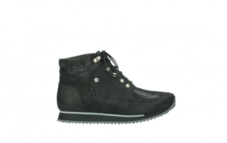 wolky ankle boots 05808 e funk 14000 black stretchleather_1