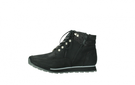wolky ankle boots 05808 e funk 14000 black stretchleather_14