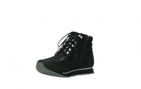 wolky ankle boots 05808 e funk 14000 black stretchleather_16