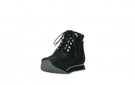 wolky ankle boots 05808 e funk 14000 black stretchleather_17
