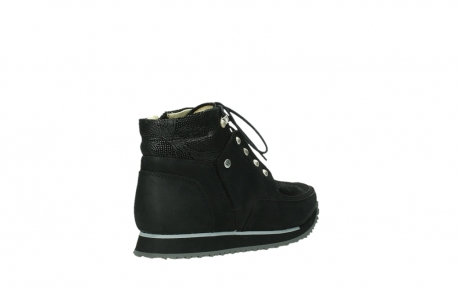 wolky ankle boots 05808 e funk 14000 black stretchleather_4