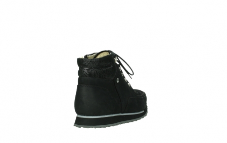wolky ankle boots 05808 e funk 14000 black stretchleather_5