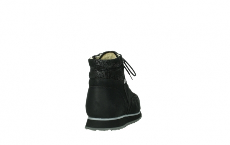 wolky ankle boots 05808 e funk 14000 black stretchleather_6