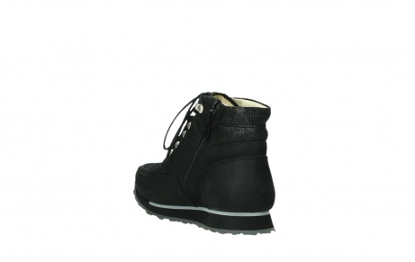 wolky ankle boots 05808 e funk 14000 black stretchleather_9