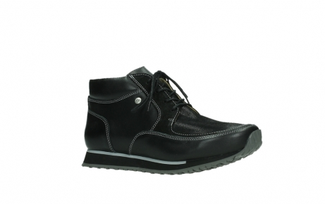 wolky ankle boots 05809 e boot xw 20009 black stretch leather_3