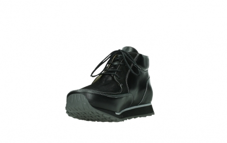 wolky ankle boots 05809 e boot xw 20009 black stretch leather_9