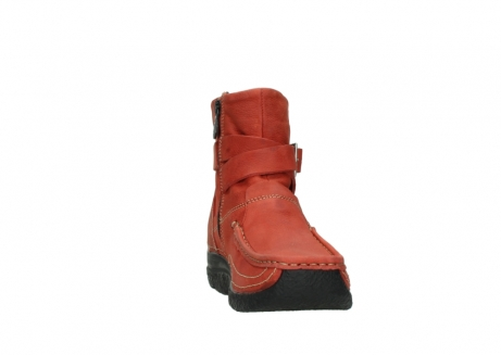 wolky ankle boots 06293 roll point 11542 winter red nubuck_18