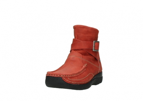 wolky ankle boots 06293 roll point 11542 winter red nubuck_21