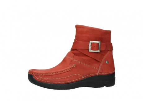 wolky ankle boots 06293 roll point 11542 winter red nubuck_24