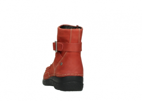 wolky ankle boots 06293 roll point 11542 winter red nubuck_6