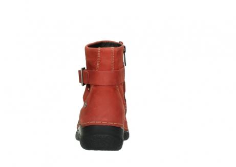 wolky ankle boots 06293 roll point 11542 winter red nubuck_7