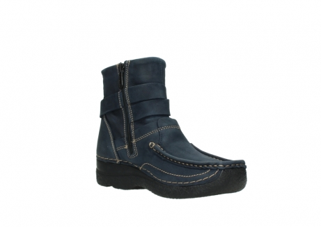 wolky ankle boots 06293 roll point 11802 blue oiled nubuck_16