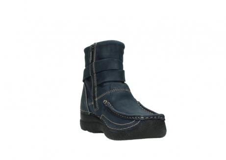 wolky ankle boots 06293 roll point 11802 blue oiled nubuck_17