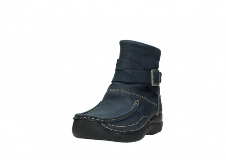 wolky ankle boots 06293 roll point 11802 blue oiled nubuck_21