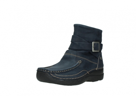 wolky ankle boots 06293 roll point 11802 blue oiled nubuck_22