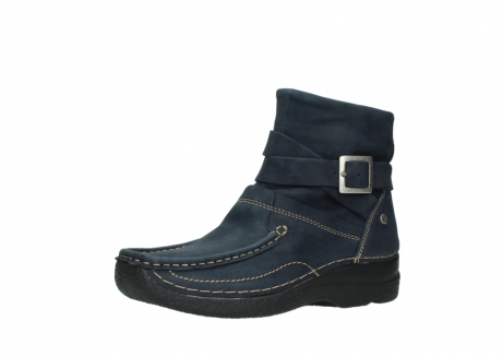 wolky ankle boots 06293 roll point 11802 blue oiled nubuck_23