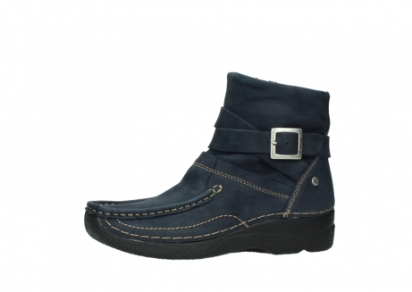 wolky ankle boots 06293 roll point 11802 blue oiled nubuck_24