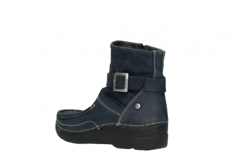 wolky stiefeletten 06293 roll point 11802 blau nubuk_4