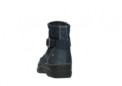 wolky ankle boots 06293 roll point 11802 blue oiled nubuck_6
