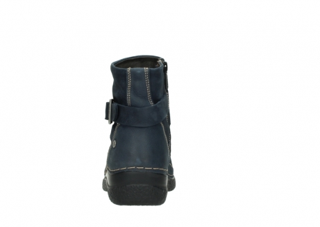 wolky ankle boots 06293 roll point 11802 blue oiled nubuck_7