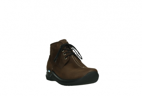 wolky ankle boots 06602 onani 11410 tobacco brown nubuckleather_5