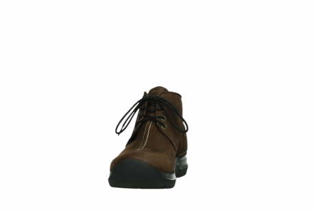 wolky ankle boots 06602 onani 11410 tobacco brown nubuckleather_8