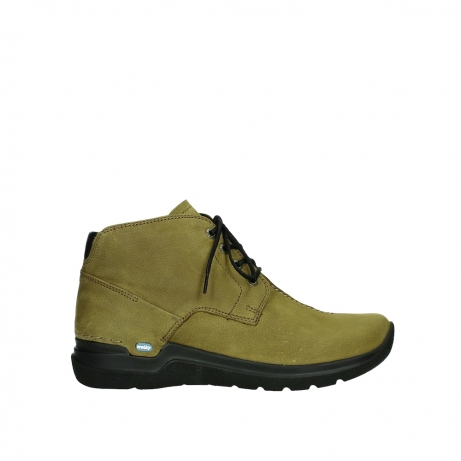 wolky ankle boots 06602 onani 11940 mustard nubuckleather