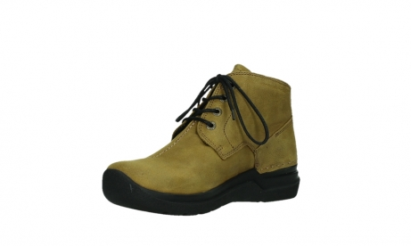 wolky ankle boots 06602 onani 11940 mustard nubuckleather_10
