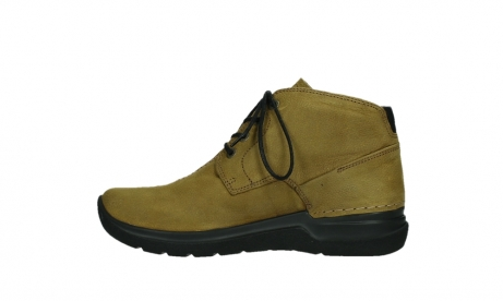 wolky ankle boots 06602 onani 11940 mustard nubuckleather_13