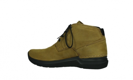 wolky ankle boots 06602 onani 11940 mustard nubuckleather_14