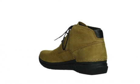 wolky ankle boots 06602 onani 11940 mustard nubuckleather_16