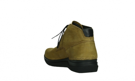 wolky ankle boots 06602 onani 11940 mustard nubuckleather_17
