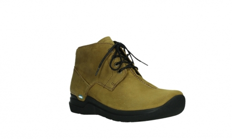 wolky ankle boots 06602 onani 11940 mustard nubuckleather_4